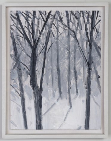 Alex Katz Study for Snow, 1993