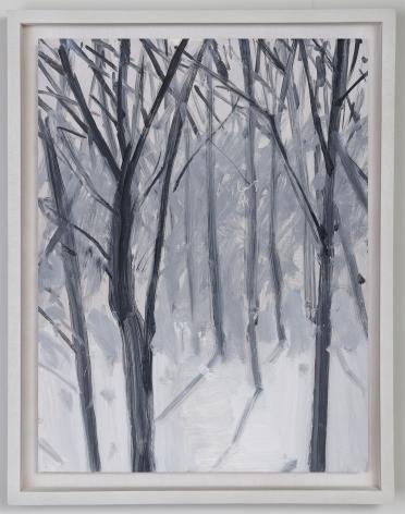 Alex Katz Study for Snow, 1993