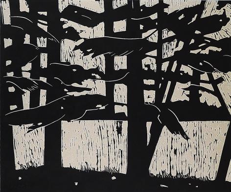 Alex Katz Pines, 2003