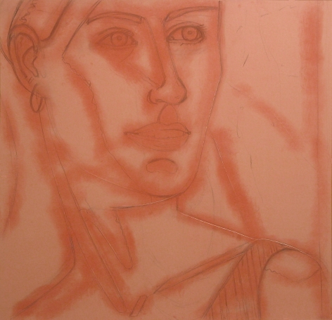Ann, 1988 graphite, charcoal, and dry pigment on paper
