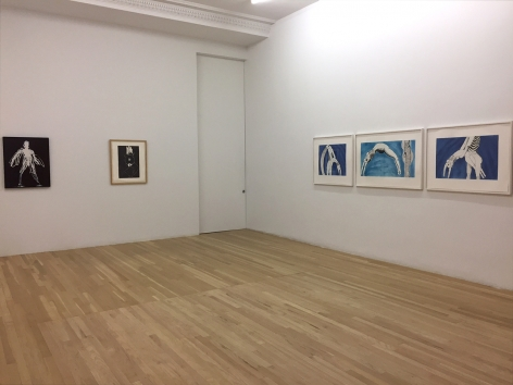 Installation of After the Fall, October 27 – November 27, 2017