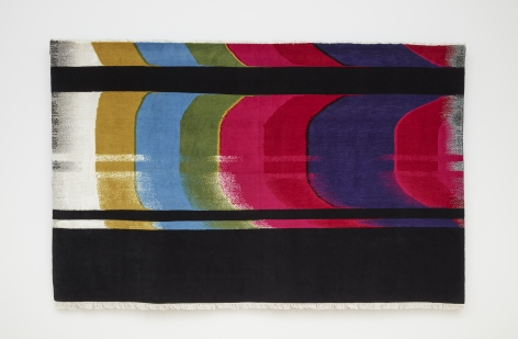 Nicholas Galanin Signal Disruption, American Prayer Rug, 2020