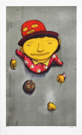 Os Gemeos The Other Side, 2014