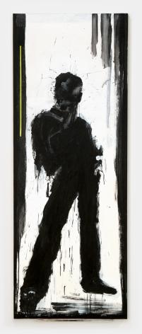 Richard Hambleton Standing Shadow With Green Stripe, 2009
