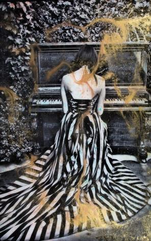 Raphael Mazzucco Piano Girl, 2018