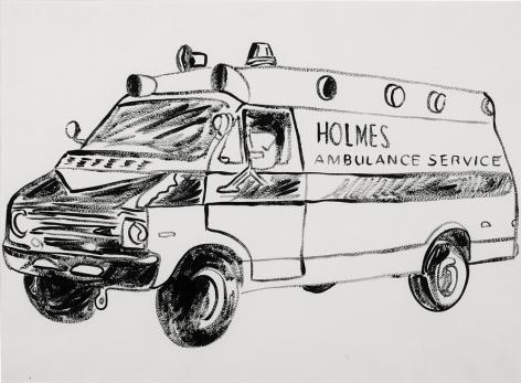 Andy Warhol Holmes Ambulance Service, 1985-86