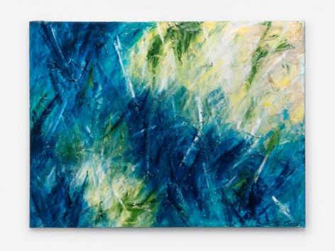 Sheila Isham 479 Cosmic Earth (Burst Series IV), 2010