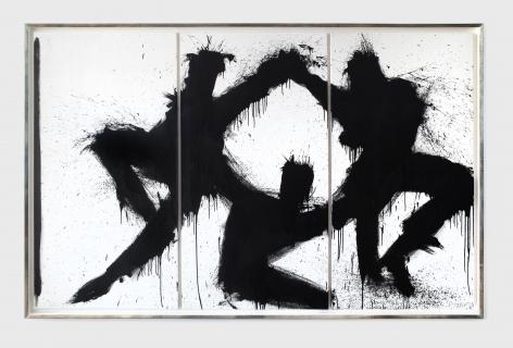 RichardHambleton Dancing Shadow Triptych, 1997