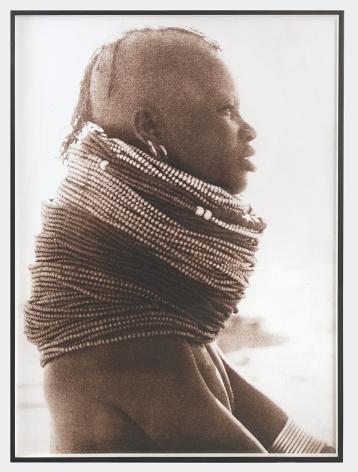 "Peter Beard Turkana 14"" Neck, 2012"