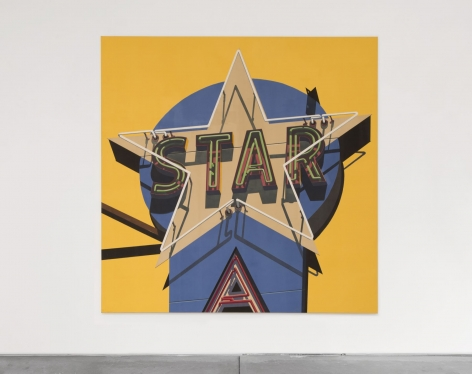 Robert Cottingham Classic Star, 2009