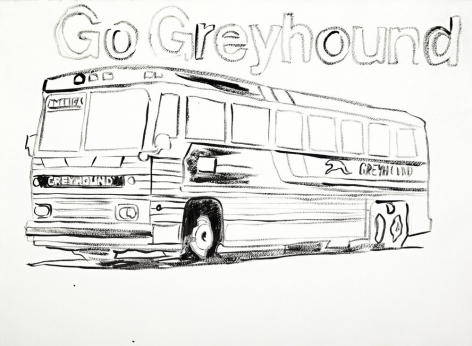 Andy Warhol Go Greyhound, 1985