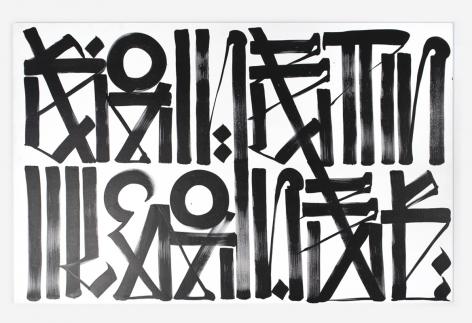 Retna Untitled (No Tienes Miedo 1), 2011
