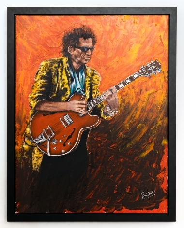 Ronnie Wood Keith II, 2012