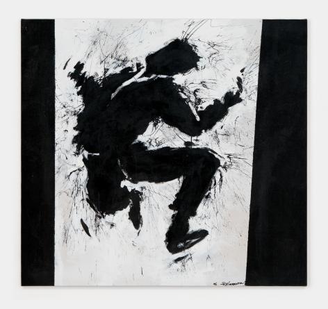 Richard Hambleton Jumping Shadowman, 1996