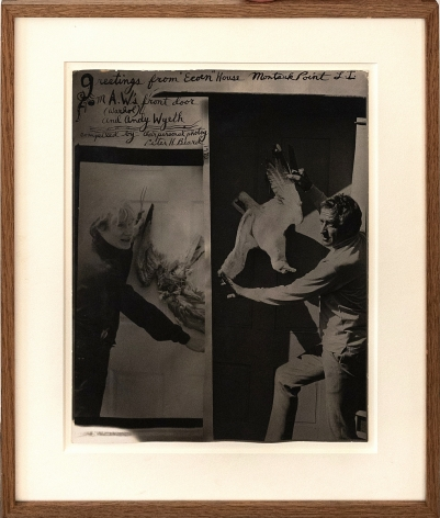 Peter Beard Andy Warhol & Andy Wyeth, 1972