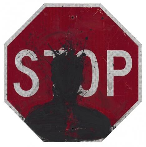 Richard Hambleton Stop Sign, 2019