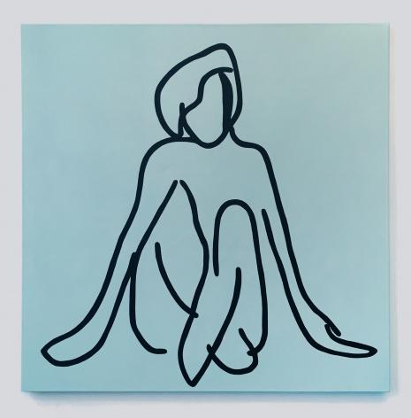 Shohei Kondo Untitled (Woman Sitting), 2017