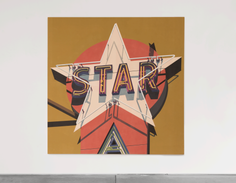 Robert Cottingham Southern Star, 2009