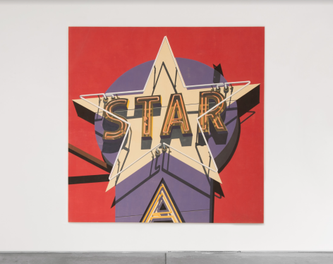 Robert Cottingham Electra Star, 2009