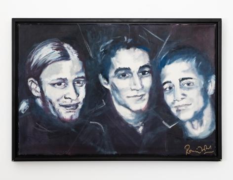 Ronnie Wood Tyrone, Jesse, Jamie