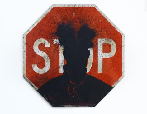 Richard Hambleton Stop Sign, 2001\