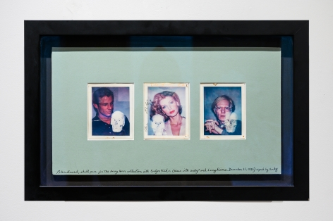 Peter Beard Skull Photos for the Harry Horn Collection with Evelyn Kuhn, Andy Warhol, and Larry Rivers, 1976