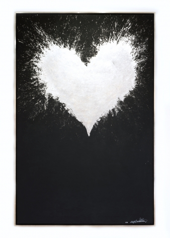 Richard Hambleton  Shadow Heart, 2009