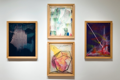 Sigmar Polke, Lens Paintings, 2009, Michael Werner New York Image 2