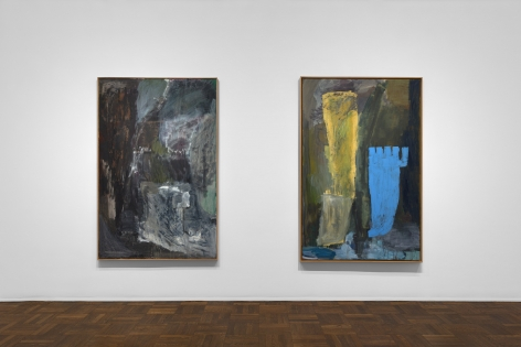 PER KIRKEBY, Paintings and Bronzes from the 1980s, New York, 2018, Installation Image 2