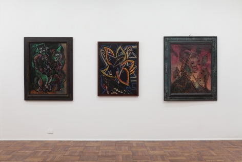 Francis Picabia, Late Paintings, New York, 2011-2012, Installation Image 3