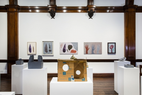 A.R. PENCK, Early Works, London, 2015, Installation Image 18