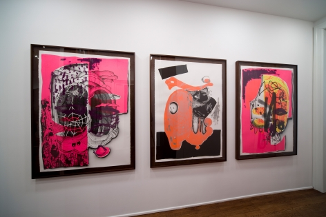 Aaron Curry, The Colour Out of Space, 2009, Michael Werner New York Image 6