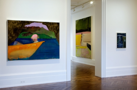 PETER DOIG, New Paintings, London, 2012, Installation Image 6