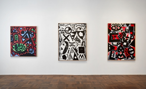 A.R. PENCK, Between Light and Shadow, New York, 2015, Installation Image 4
