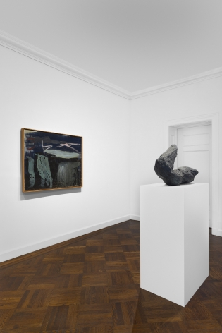 PER KIRKEBY, Paintings and Bronzes from the 1980s, New York, 2018, Installation Image 20