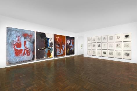 Georg Baselitz, 1977-1992, New York, 2017-2018, Installation Image 6