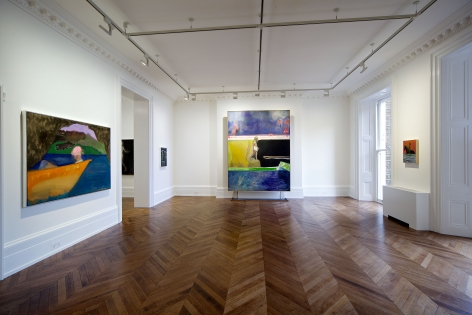 PETER DOIG, New Paintings, London, 2012, Installation Image 8