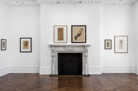 PIERRE PUVIS DE CHAVANNES, Works on Paper and Paintings, London, 2018, Installation Image 7