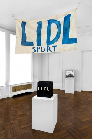 Jörg Immendorf, LIDL Works and Performances from the 60s, New York, 2017, Installation Image 19
