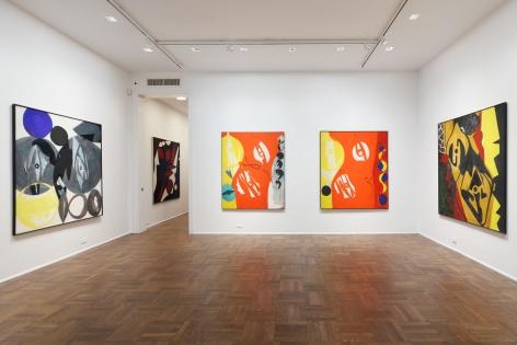 ERNST WILHELM NAY, Paintings, New York, 2012, Installation Image 1