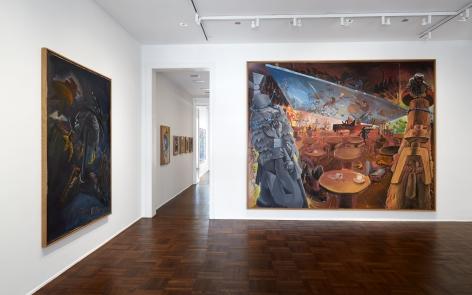 Jörg Immendorff, Café Deutschland, New York, 2014, Installation Image 5