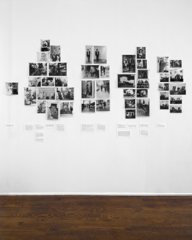 Jörg Immendorf, LIDL Works and Performances from the 60s, New York, 2017, Installation Image 9