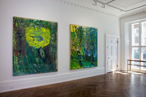 PER KIRKEBY Recent Paintings 5 June through 27 July 2013 MAYFAIR, LONDON, Installation View 6