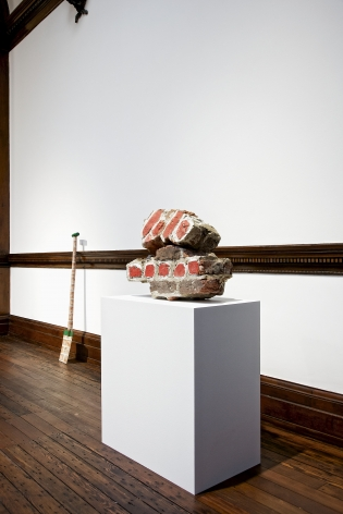 MARCEL BROODTHAERS Décor: A Conquest and Bricks: 1966-1975 21 November 2013 through 18 January 2014 MAYFAIR, LONDON, Installation View 16