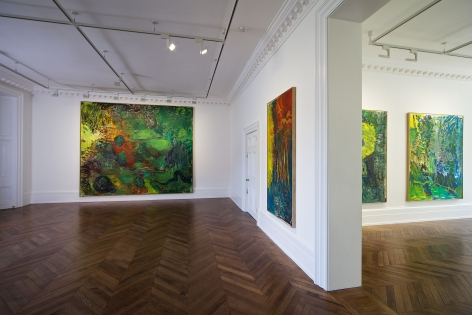 PER KIRKEBY Recent Paintings 5 June through 27 July 2013 MAYFAIR, LONDON, Installation View 2