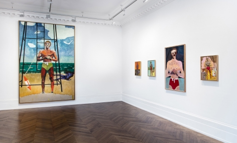 Peter Doig, London, 2017-2018, Installation Image 6