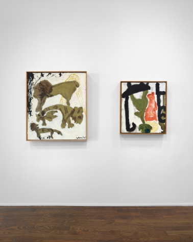 Don Van Vliet, Parapliers the Willow Dipped, Paintings 1967-1997, New York, 2020, Installation Image 8