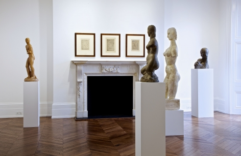 WILHELM LEHMBRUCK Sculpture and Works on Paper 21 March through 25 May 2013 MAYFAIR, LONDON, Installation View 11