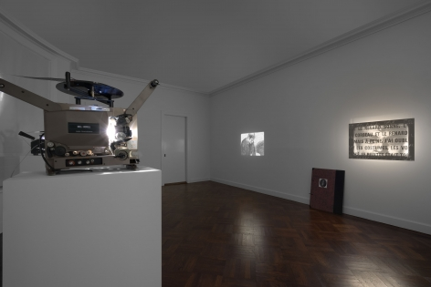 MARCEL BROODTHAERS Écriture 28 January through 26 March 2016 UPPER EAST SIDE, NEW YORK, Installation View 15
