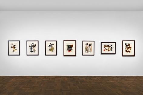 Don Van Vliet, Works on Paper, New York, 2017, Installation Image 6